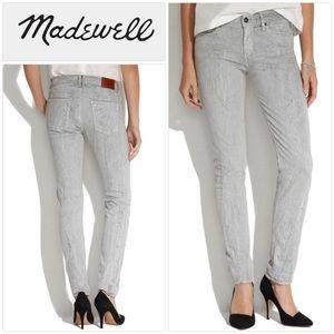 Madewell Gray Skinny Skinny Jeans